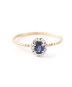 WOUTERS & HENDRIX GOLD | 18kt And Ring From Featuring A Faceted Sapphire Stone 0