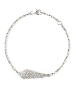 GARRARD | 18kt Wing Bracelet From Featuring Pave Set Diamonds A Rolo Chain And A Lobster Claw Fastening