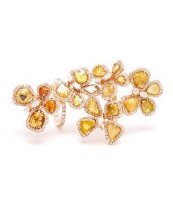 SAQQARA | Sliced Diamond Long Meadow Ring From