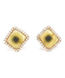 SAQQARA | Sunset Diamond Slice Earrings