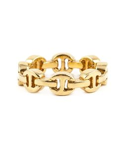 HOORSENBUHS | 22kt Dame Classic Tri-Link Ring From