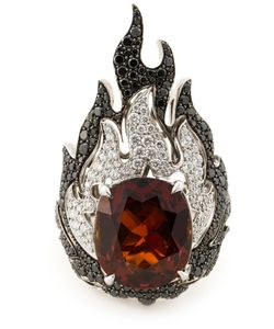GARRARD | 18kt Fire Of London Ring From Featuring And Spinel Flame Diamonds 1