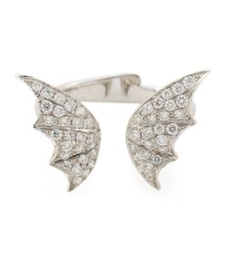 Stephen Webster | 18kt Fly By Night Ring From Featuring Pave Set Diamonds And A Winged Design