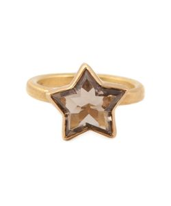 MARIE HELENE DE TAILLAC | Smokey Quartz Star Ring From