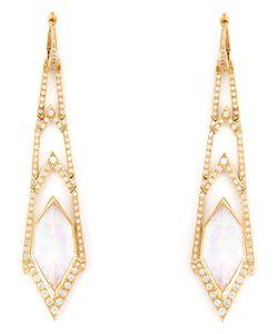 Stephen Webster | Crystal Haze Long Diamond Earrings