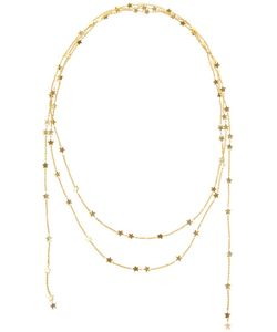 LUIS MIGUEL HOWARD | 18kt Star Lariat Necklace