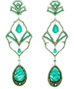 DIONEA ORCINI | Semiramis Emerald Earrings