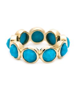 SHYLEE ROSE | 14kt Turquoise Ring From Featuring Multiple Faceted Turquoise Stones