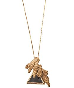 YUKIE DEUXPOINTS | Coral Triangle Necklace