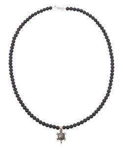 CATHERINE MICHIELS | And Necklace From Featuring Bead Detailing A Turtle Pendant And A Clasp Fastening