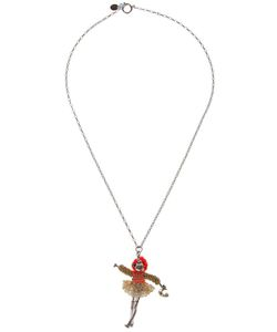SERVANE GAXOTTE | -Tone Brass Necklace From Featuring A Chain Link Design A Mini Figure Pendant And A Lobster Claw Fastening