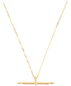 MARIA BLACK | -Plated Spear Chain Necklace From With Spear Pendant And Clasp Fastening