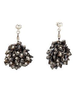 JEAN-FRANCOIS MIMILLA | Ball Cluster Earrings From Jean Francois Mimilla Featuring A Cluster Ball With Swarovski Crystals And Post Back Closure