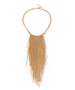 VITA FEDE | Chain Tassel Necklace From Featuring A Lobster Claw Fastening