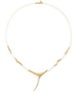 SHAUN LEANE | Pearl Branch Necklace