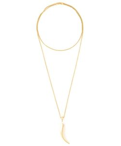 SHAUN LEANE | Knife Edge Long Necklace