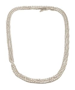 MICHAEL SCHMIDT | Crystal Mesh Rope Necklace