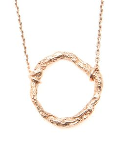 NIZA HUANG | Plated Illusion Circle Necklace From