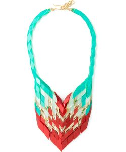 Silvia Rossini | Multicoloured Tail Necklace From