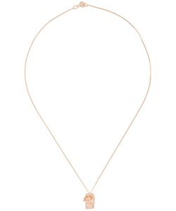 ROS MILLAR | Textured Tag Necklace