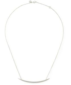 SHAUN LEANE | Sterling Quill Necklace From Featuring A Cable Chain And A Lobster Clasp Closure