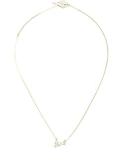 ZOE AND MORGAN | Sterling Love Necklace From