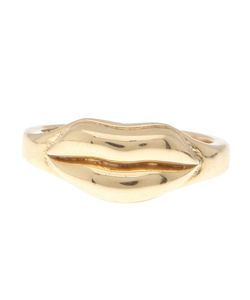 ALISON LOU | 14kt Lip Ring From
