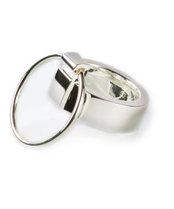 RUIFIER | Stirling Icon Ring From Featuring A Three Way Design And A Second Thin Ring Attachment