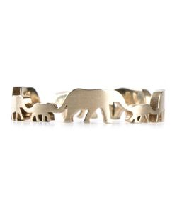 MARC ALARY | 18 Karat Elephant Ring From Featuring An Elephant Caravan Silhouette