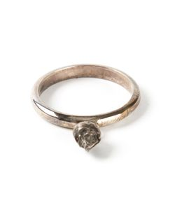 UGO CACCIATORI | Bronze-Tone Ring From Featuring A Small Skull Detail And A Treated Finish