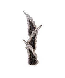 Joanna Laura Constantine | Embellished Wing Triple Ring