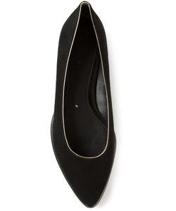 STELLA LUNA | Suede Pointed Toe Ballerinas From