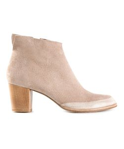 Coclico | Suede Ankle Boots From Featuring An Almond Toe A Side Zip Fastening And A Chunky Low Block Heel