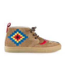 DEL TORO SHOES | Ботинки С Многоцветной Вышивкой