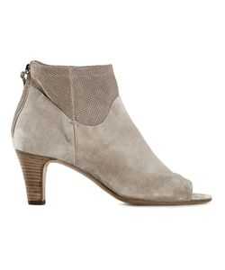 Laboratorigarbo | Sand Suede Open Toe Boots From