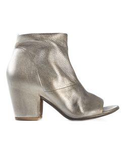 Settima | Ботинки По Щиколотку С Открытым Носком