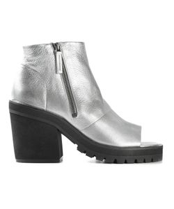Settima | -Tone Leather Chunky Heel Ankle Boots From