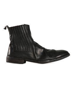 GUIDI | Ботинки-Челси С Помятым Эффектом