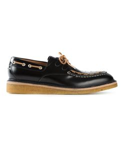 WHF WEBER HODEL FEDER | Calf Leather Stamford Low Deck Shoes From