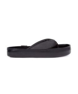 ARTSELAB | Calf Leather Chunky Sole Flip Flops From