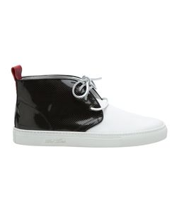 DEL TORO SHOES | Ботинки Чукка С Лакированной Панелью