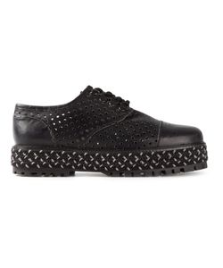 FAREWELL | Leather May Perforated Lace-Up Shoes From