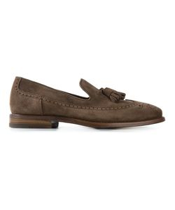 Henderson Fusion | Suede Tassel Loafers From Featuring Brogue Detailing