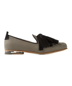 Daniele Michetti | And Cotton And Leather Tassel Loafers From