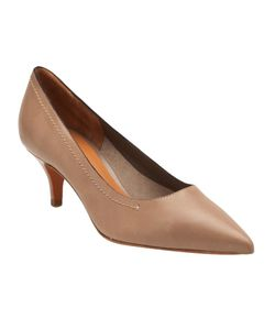 CHUCKIES NEW YORK | Leather Pointed Toe Pumps From