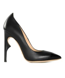 JEROME ROUSSEAU | Leather Structured Heel Pumps From