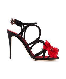 Dolce & Gabbana | Босоножки С Цветком