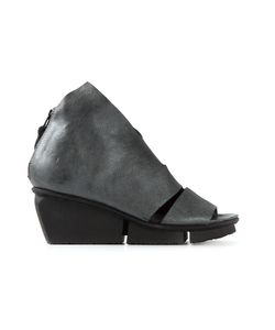 Trippen | Leather Wow Wedge Sandals From