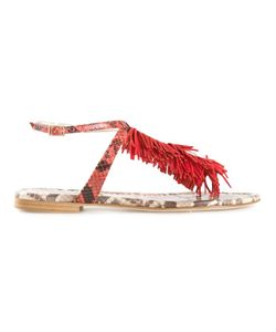 Visconti & Du Réau | Leather Maui Sandals From