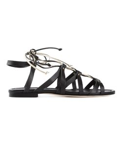 Visconti & Du Réau | Leather Taormina Sandals From